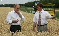 Putin said Russia has bypassed US and Canada on wheat exports